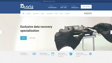 QUARTZ Data Recovery, acum si pe plan international